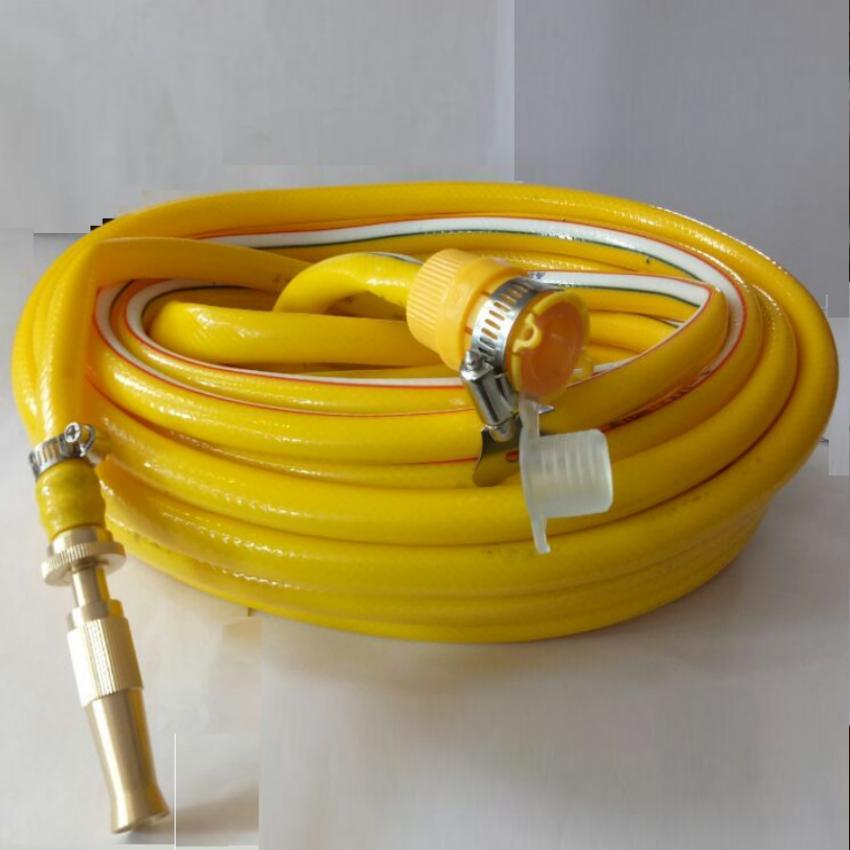 Hình ảnh Bộ dây và vòi xịt tăng áp lực nước 300% rửa xe tưới cây loạI 10m T606I