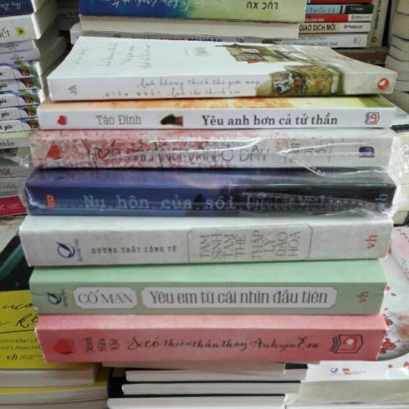 Mua Combo 7 cuốn truyện ngôn Tình.