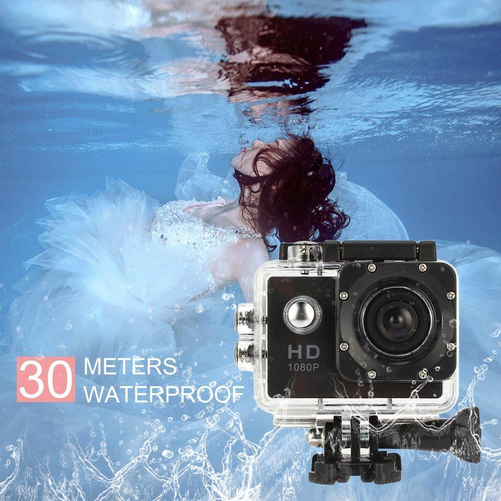 Hình ảnh WOND Waterproof Full HD 1080P Sports Action Camera Mini DVR Camcorder for SJ4000 black