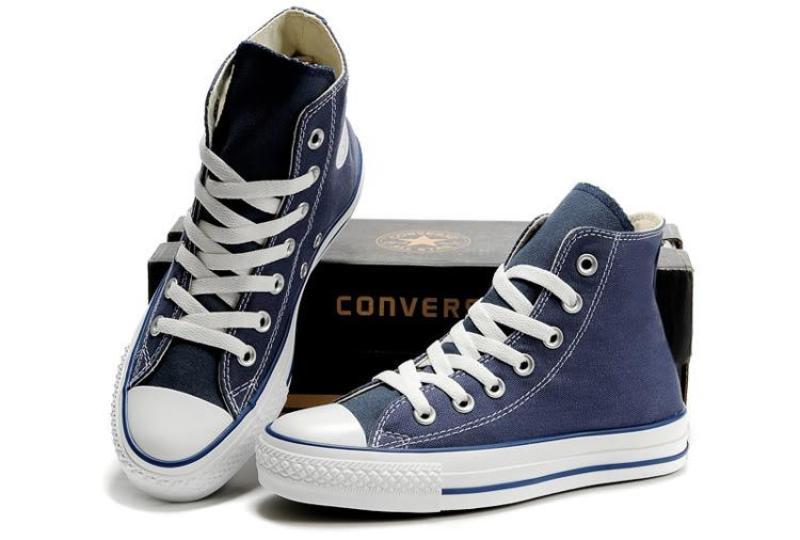 [ XẢ GIẦY ] Converse Classic Tím than cao cổ NAM