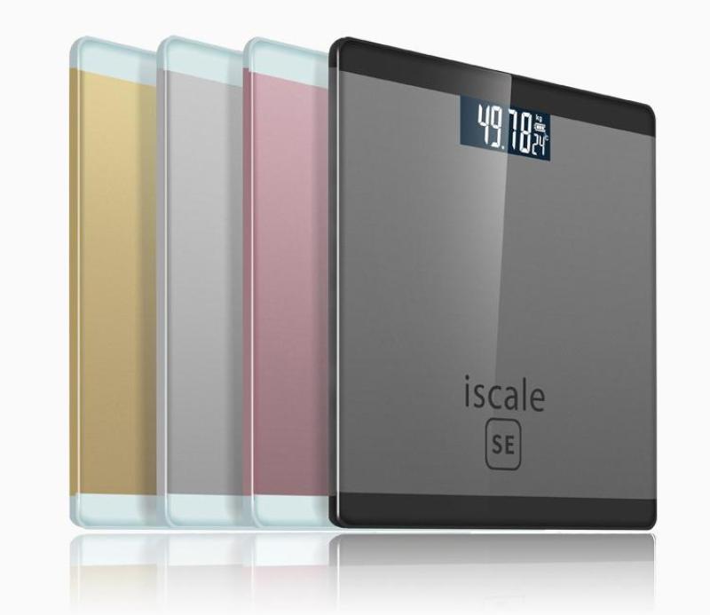 Cân sức khỏe điện tử Iscale SE Max 180kg - Tặng kèm thước dây nhập khẩu