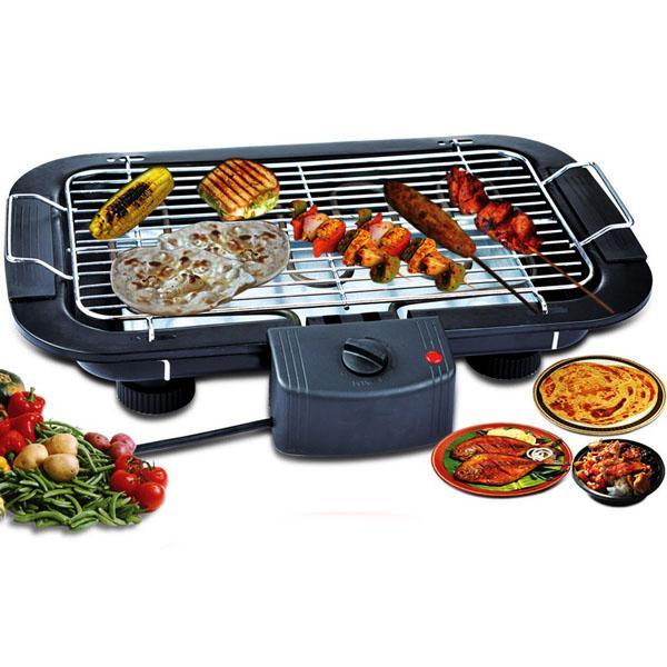 Hình ảnh Bếp nướng không khói Electric Barbecue Grill 2000W, Bếp nướng Midea còn không tốt bằng loại bếp này, Bep nuong bang ga, BH 1 đổi 1 Uy Tín, Giảm 50% Khi Mua Trên LAZADA