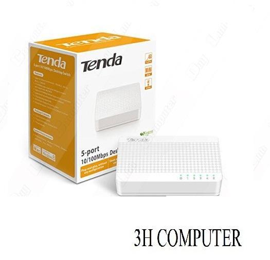 Hình ảnh Bộ chia mạng Switch 5 port 10/100 Tenda S105 (5 cổng)