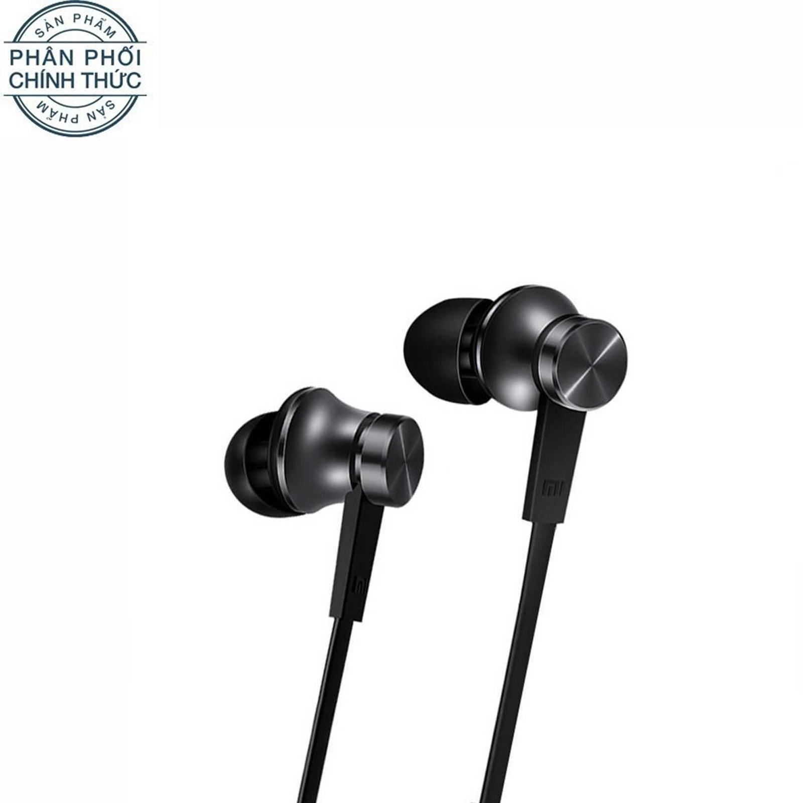 Giá Bán Tai Nghe Nhet Tai Xiaomi Mi In Ear Headphones Basic 2016 Đen Hang Phan Phối Chinh Thức Vietnam