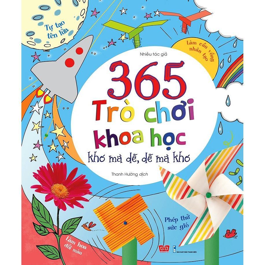 Mua Sách - 365 Trò Chơi Khoa Học Khó Mà Dễ- Dễ Mà Khó