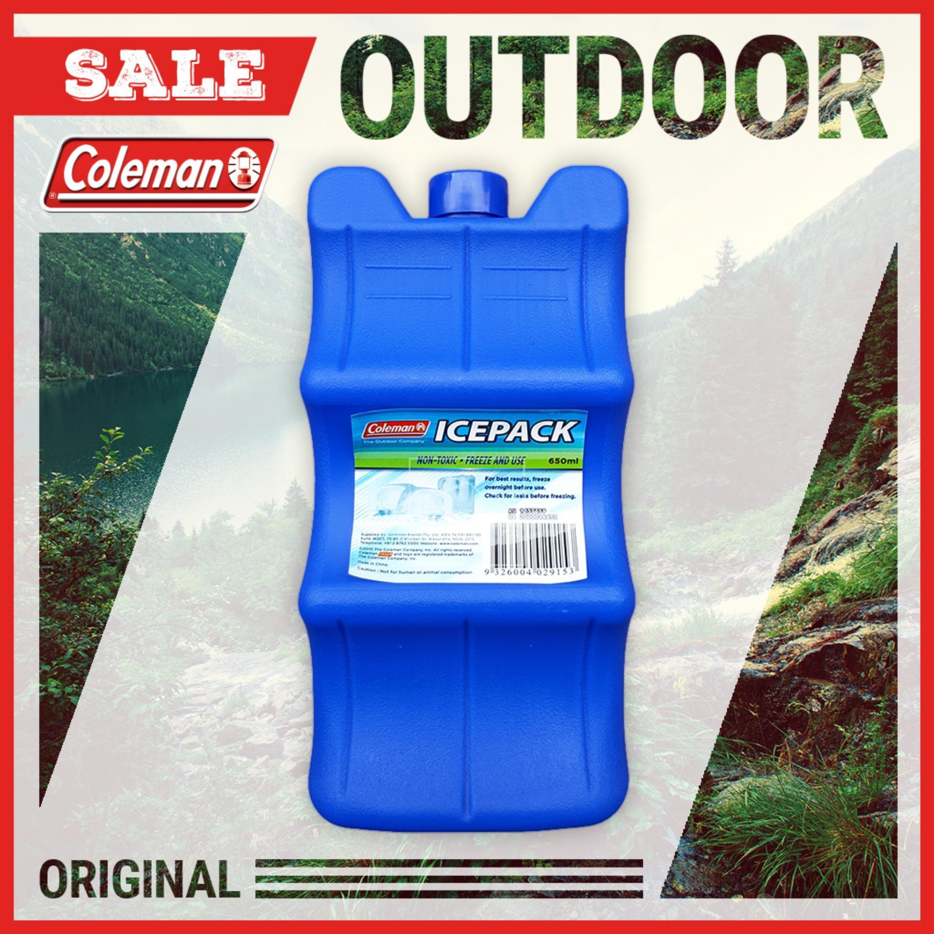 Ôn Tập Tui Nhựa Lam Lạnh Coleman 1237259 6 Lon 650Ml6 Pack Ice Brick Hang Phan Phối Chinh Thức