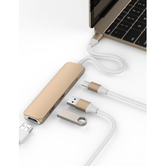 Bộ chuyển USB-C thành HDMI 4K HyperDrive – Review và Đánh giá sản phẩm