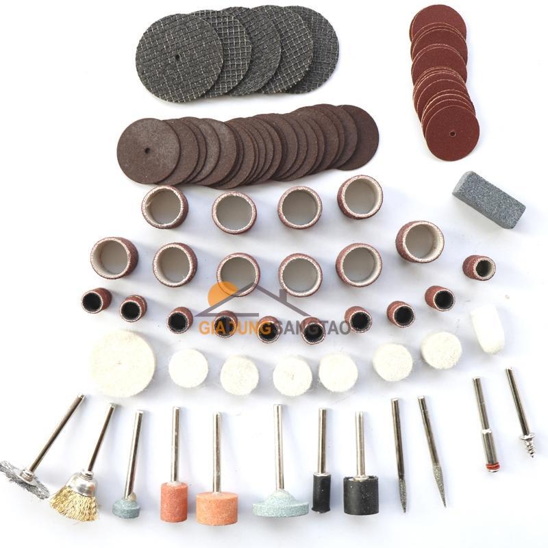 Hình ảnh Bộ phụ kiện cho máy khoan, mài, khắc 105 chi tiết ( 105pc)
