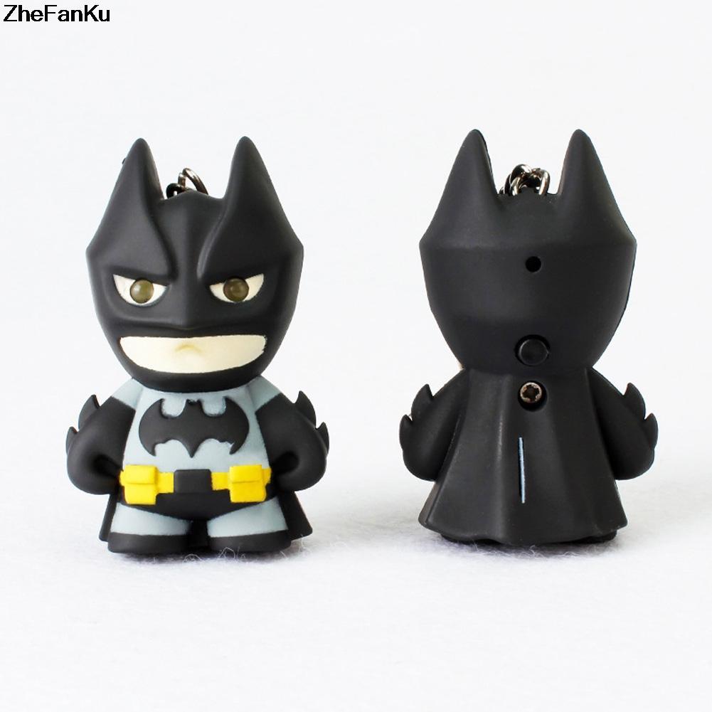 MÓC KHÓA  SIÊU ANH HÙNG BATMAN MARVEL ĐÈN LED