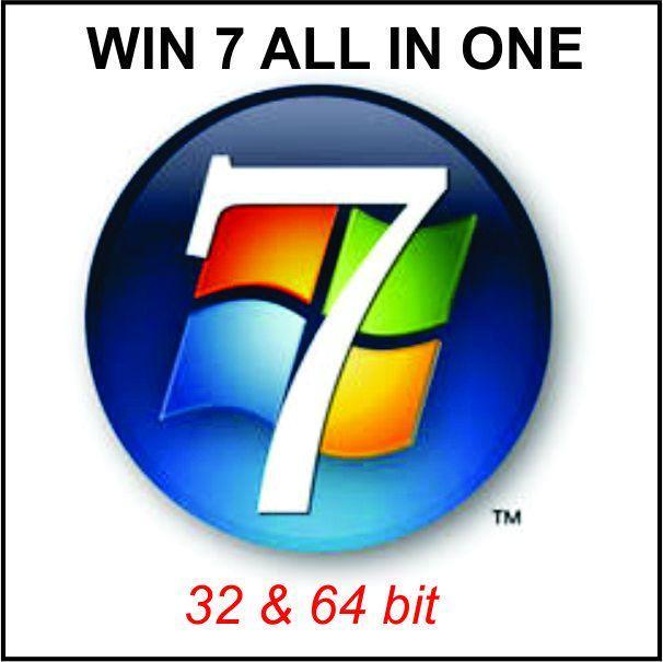 Hình ảnh Đĩa cài Win 7 ALL IN ONE