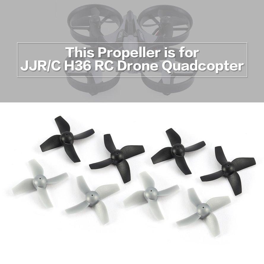Osman 8 Pcs Asli Cw/ccw Baling-Baling Untuk Jjr/c H36 Drone Rc Mini Q * Uadcopter By Osmanthus.