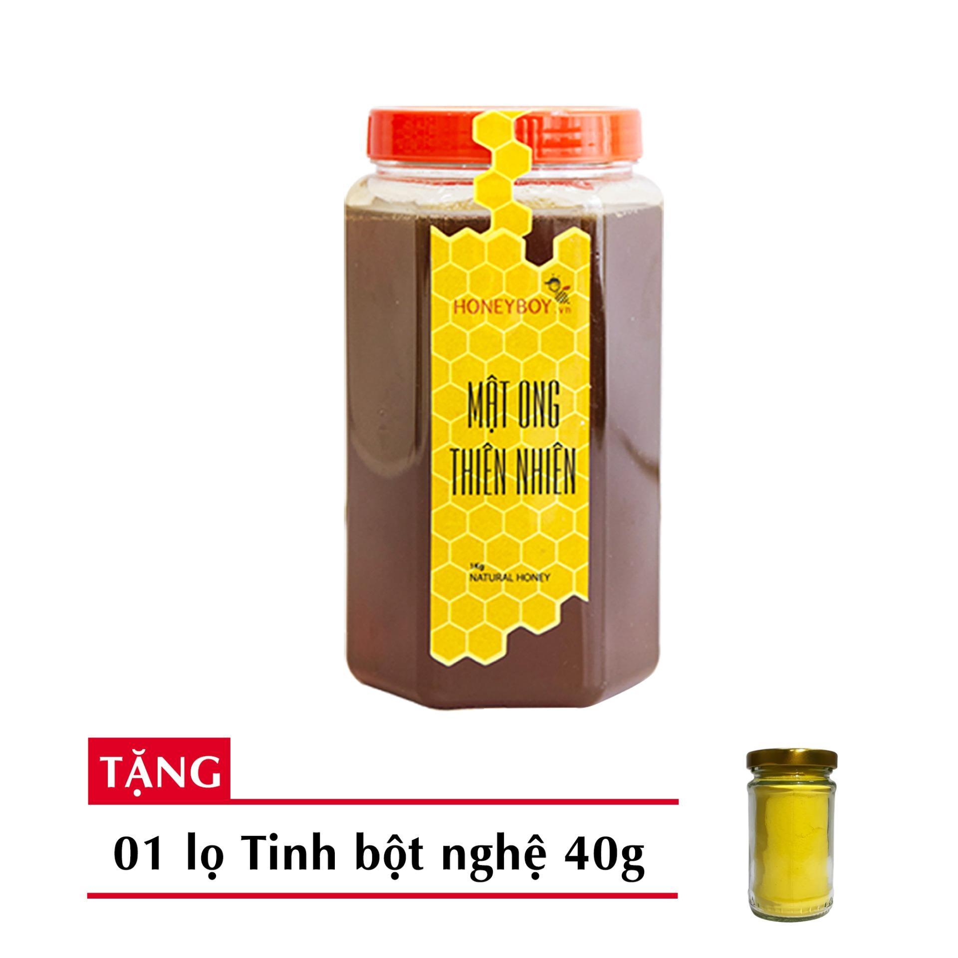 Ôn Tập Cửa Hàng Mật Ong Thien Nhien Honeyboy 1Kg Tặng Tinh Nghệ 40G Trực Tuyến