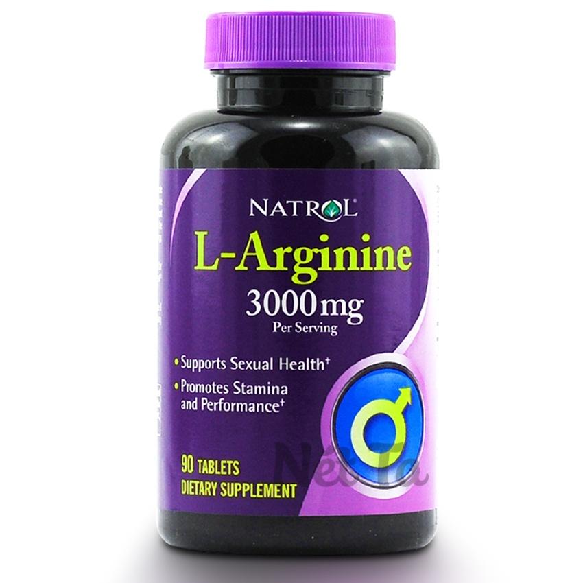 Natrol L-Arginine 3000mg hộp 90 viên - Mỹ