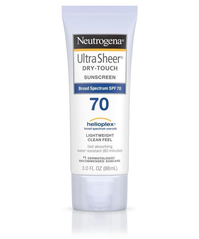 Kem Chống Nắng Neutrogena Ultra Sheer Dry-Touch Sunscreen SPF 70 nhập khẩu