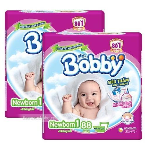 Bán Bộ 2 Goi Miếng Lot Ta Sơ Sinh Bobby Newborn 1 88 Miếng Bobby