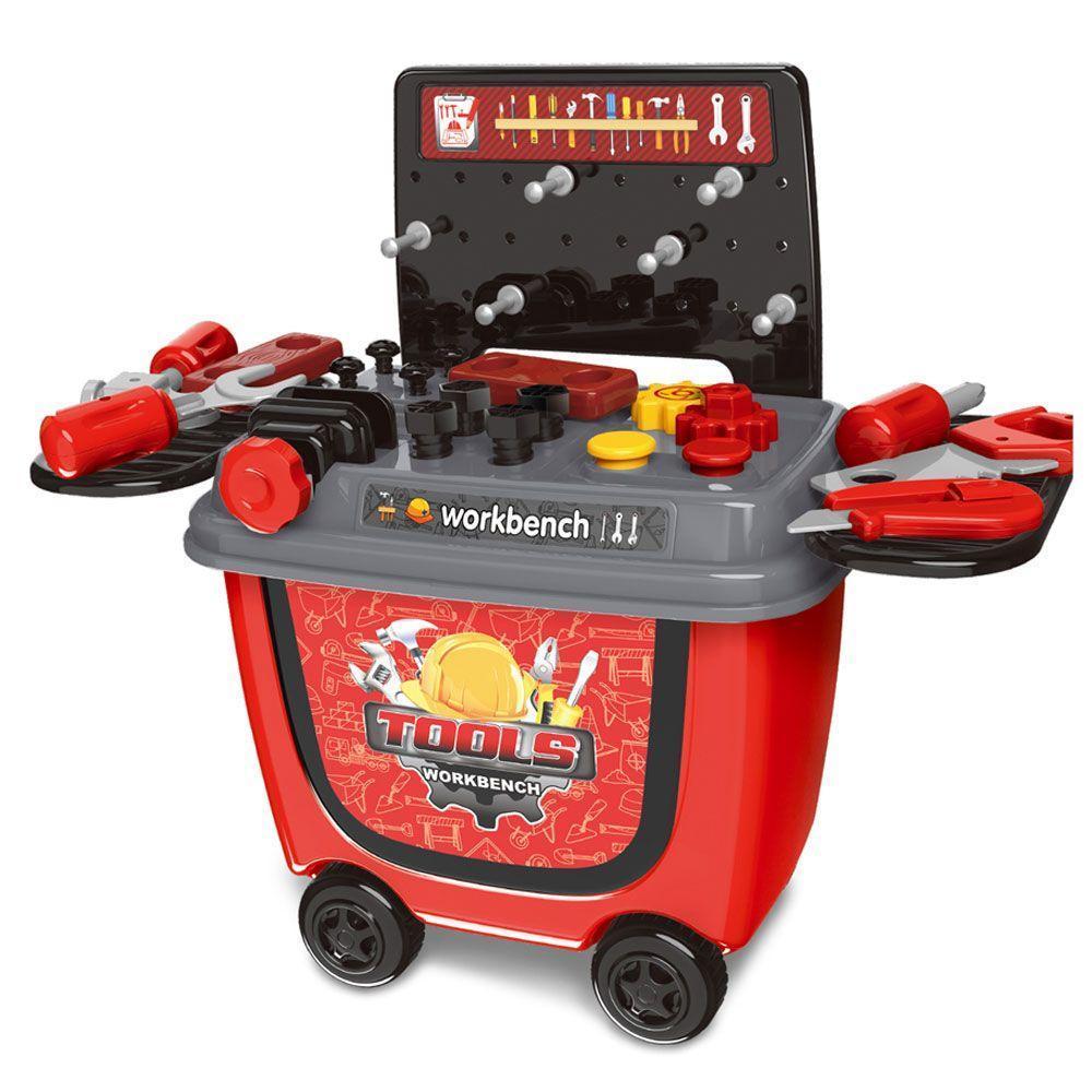Hình ảnh Đồ chơi xe đẩy dụng cụ sửa chữa 8014 cho bé