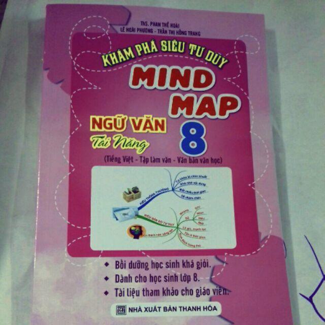 Mua Khám phá siêu tư duy Mind Map ngữ văn tài năng 8