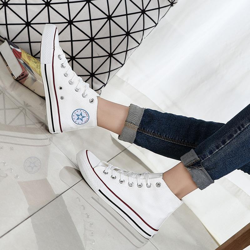 Hình ảnh Giày thể thao Nam/Nữ Sneaker Lidus HH1818 Converse. Bảo hành 12 tháng