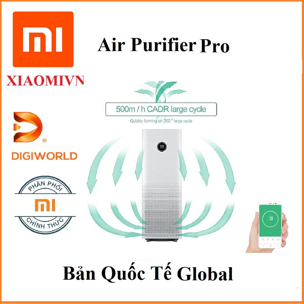 Bảng giá Máy lọc không khí Xiaomi Air Purifier Pro - Hàng Digiworld