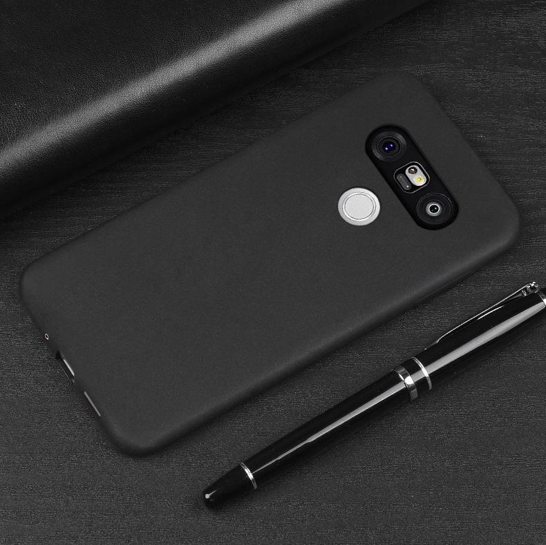 Untuk LG G5 Permen Merasa Frosted Casing Ponsel, TPU Tahan Guncangan Tutup Silikon Lembut Shell
