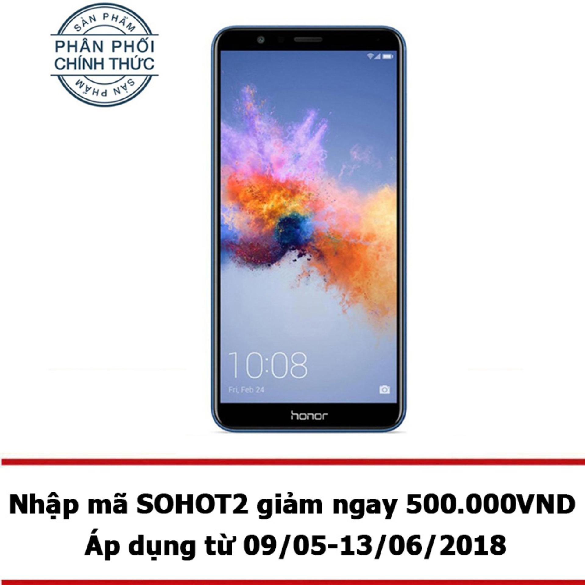 Bán Honor 7X 64Gb Ram 4Gb Xanh Hang Phan Phối Chinh Thức Rẻ