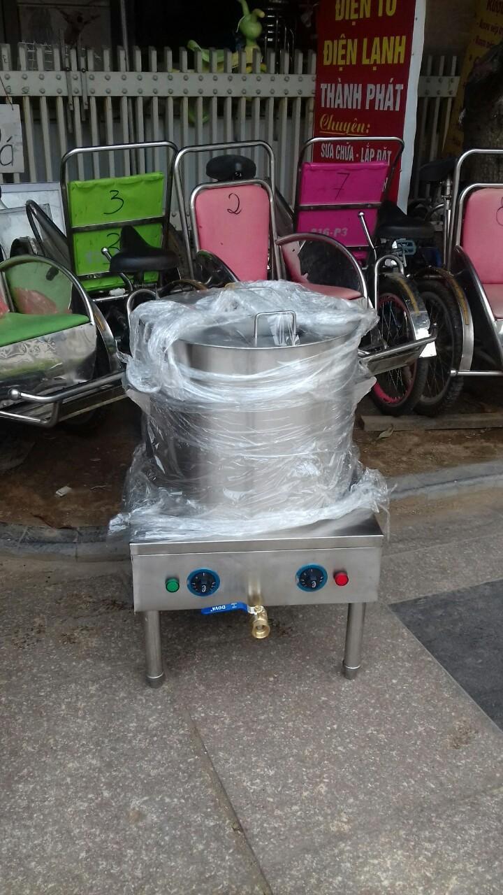 Nồi nấu phở 50 lít inox điện TK-50L (Bạc)