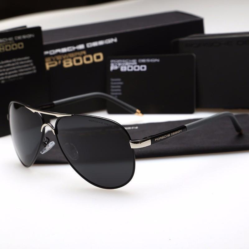 Giá bán Mắt kính nam thời trang cao cấp P8000 ( đầy đủ hộp ) MẪU 2018