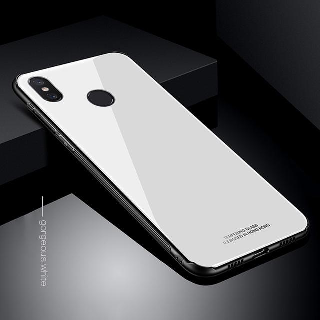 Hình ảnh Ốp lưng kính cho Xiaomi Mi 8 (Mi8)