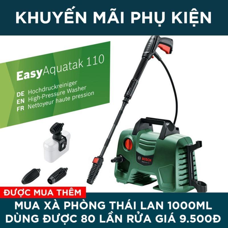 Máy phun xịt rửa áp lực cao Bosch Easy Aquatak 110