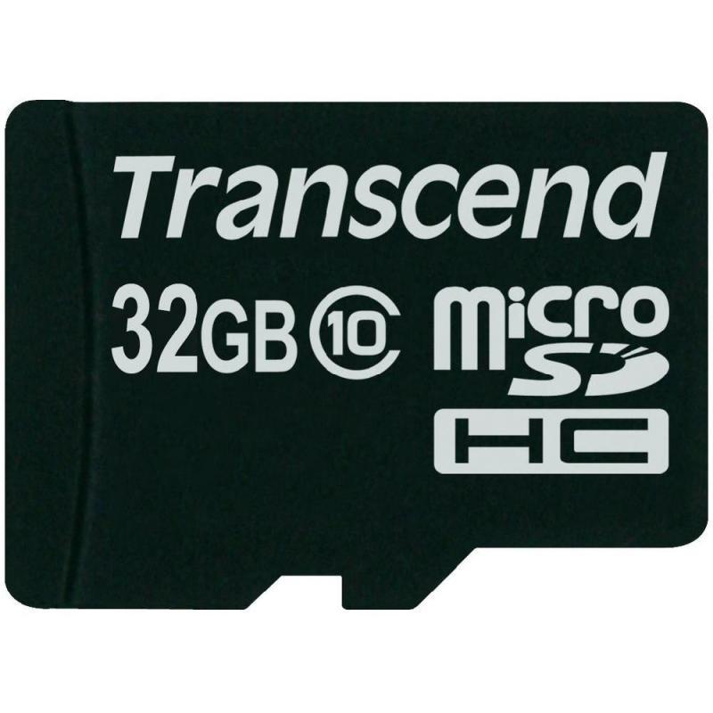 Thẻ nhớ Transcend 32GB MicroSDHC Class10 U1 không adapter_TS32GUSDCU1