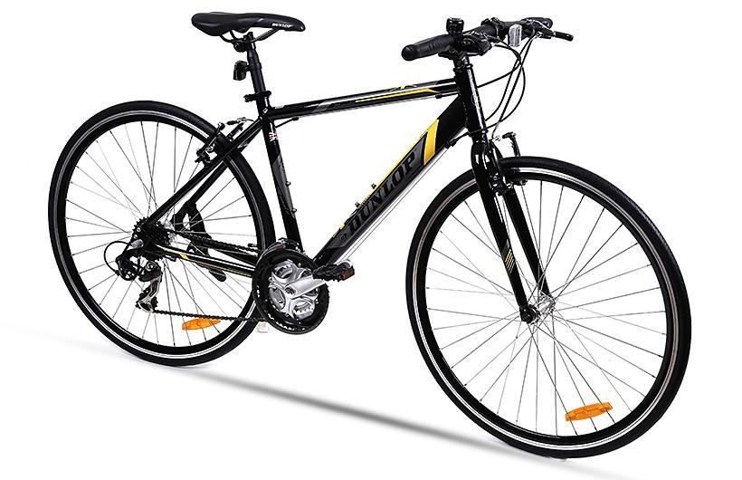 Xe đạp thể thao Dunlop CTB-DLP 246 124 x 20 x 78 cm (Đen)