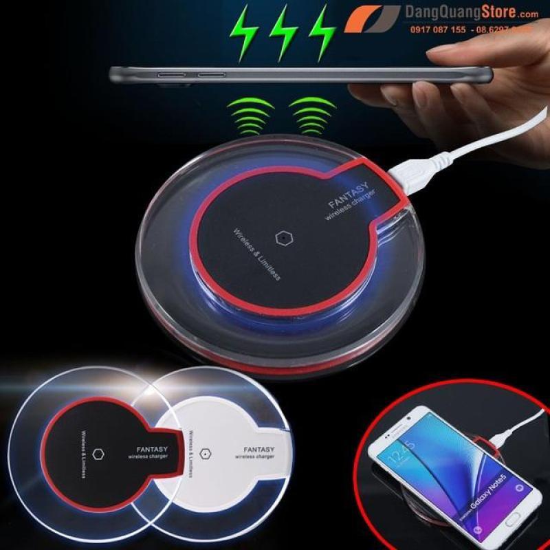 Giá Bộ sạc không dây Wireless Charger kèm chip sạc dành cho Samsung Galaxy