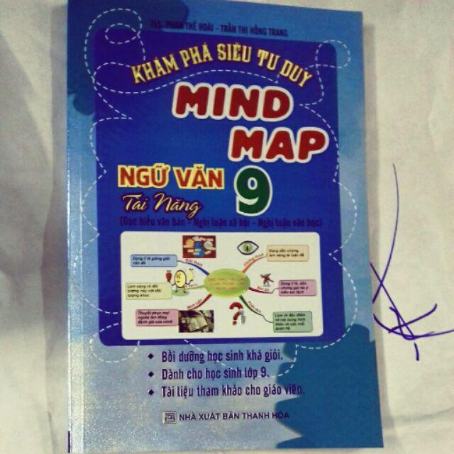 Mua Khám phá siêu tư duy Mind Map ngữ văn tài năng 9
