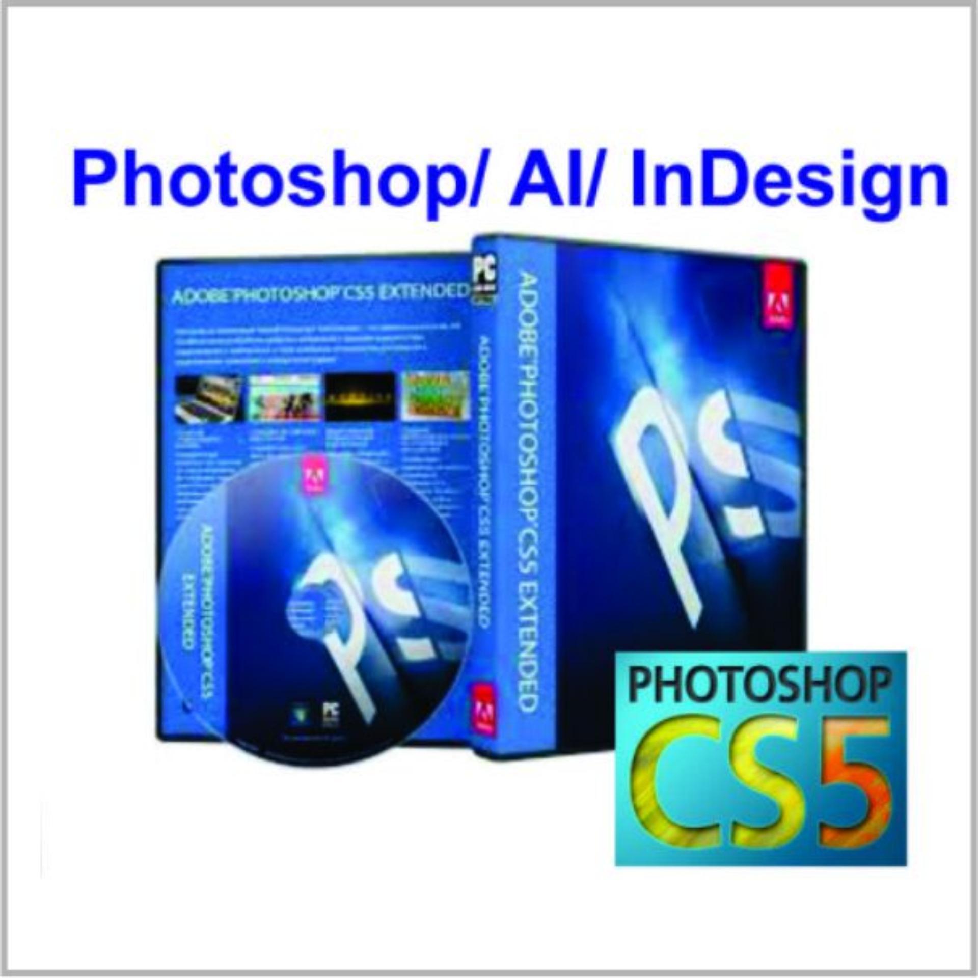 Hình ảnh Bộ DVD Photshop_AI_ Indesign CS5 Chuẩn_ Giáo Trình