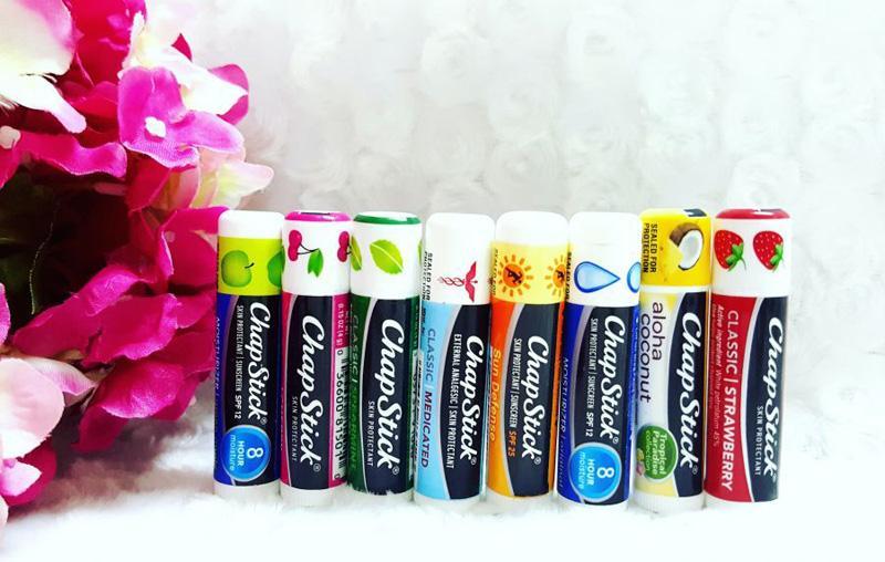 Son dưỡng môi có màu ChapStick Skin Protectant Classic Cherry 4g