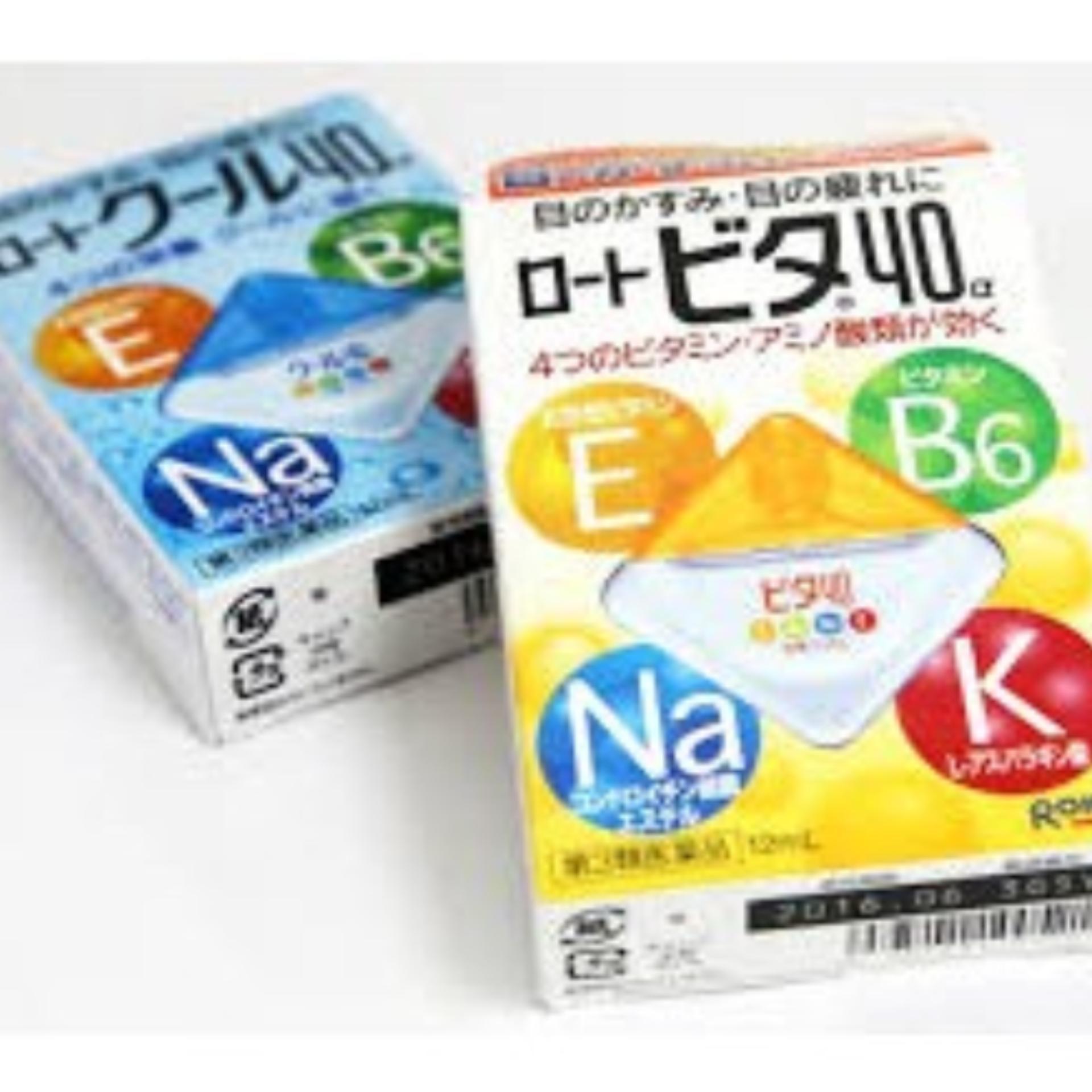Hình ảnh Thuốc Nhỏ Mắt Rohto Nhật Bản