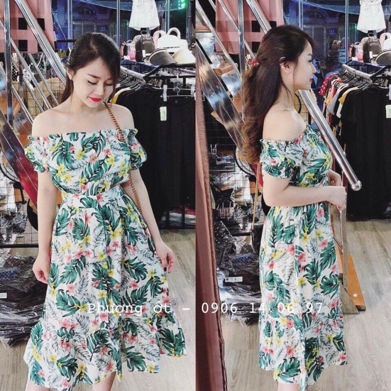 Nơi bán [susuptstore] váy maxi đũi xanh hót hít