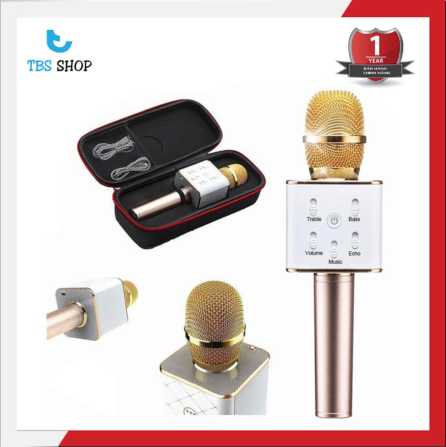 Hình ảnh Mic Hát Karaoke Kiêm Loa Bluetooth 3in1 Q7 U thế hệ mới