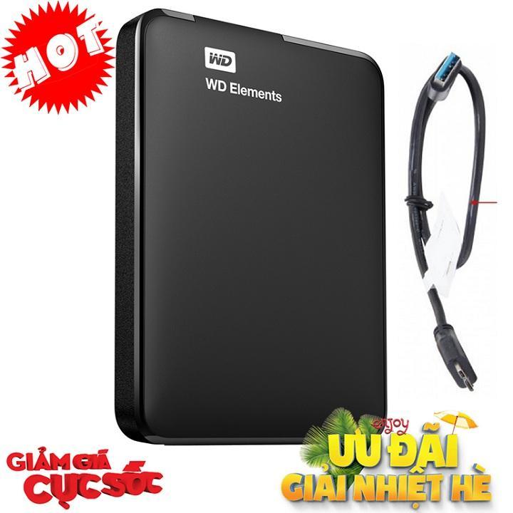 Hình ảnh Ổ Cứng Di Động 500Gb WD kết nối USB 3.0 (Hàng Nhập Khẩu)