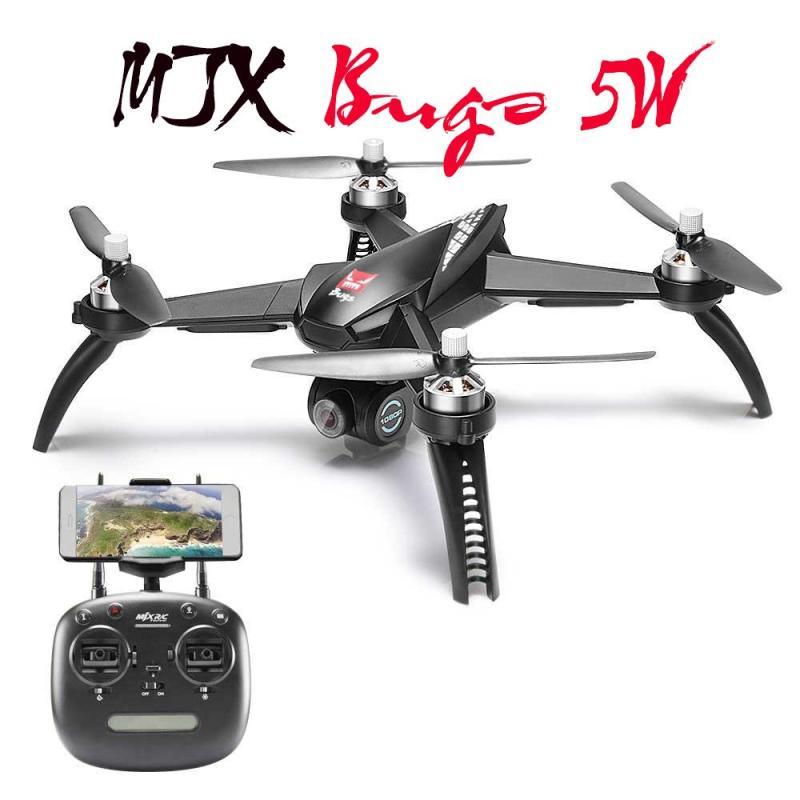 Máy bay MJX bugs 5W -  GPS, follow me , truyền hình ảnh về điện thoại, camera 1080P xoay góc