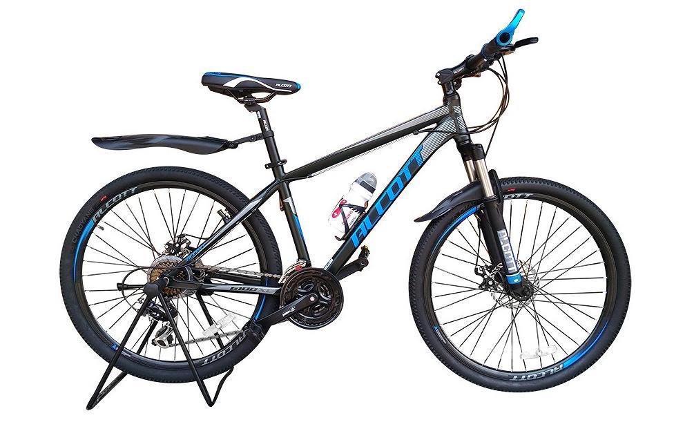 Xe đạp địa hình Alcott 6100XC Black Blue