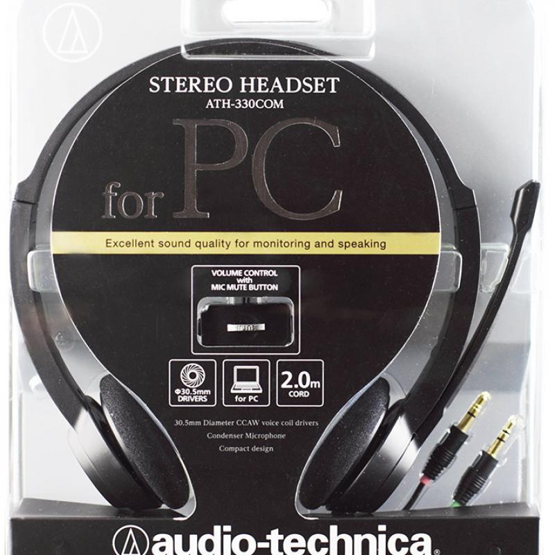 Tai nghe Audio-technica On-ear ATH-330COM  [giá tốt] – Review và Đánh giá sản phẩm