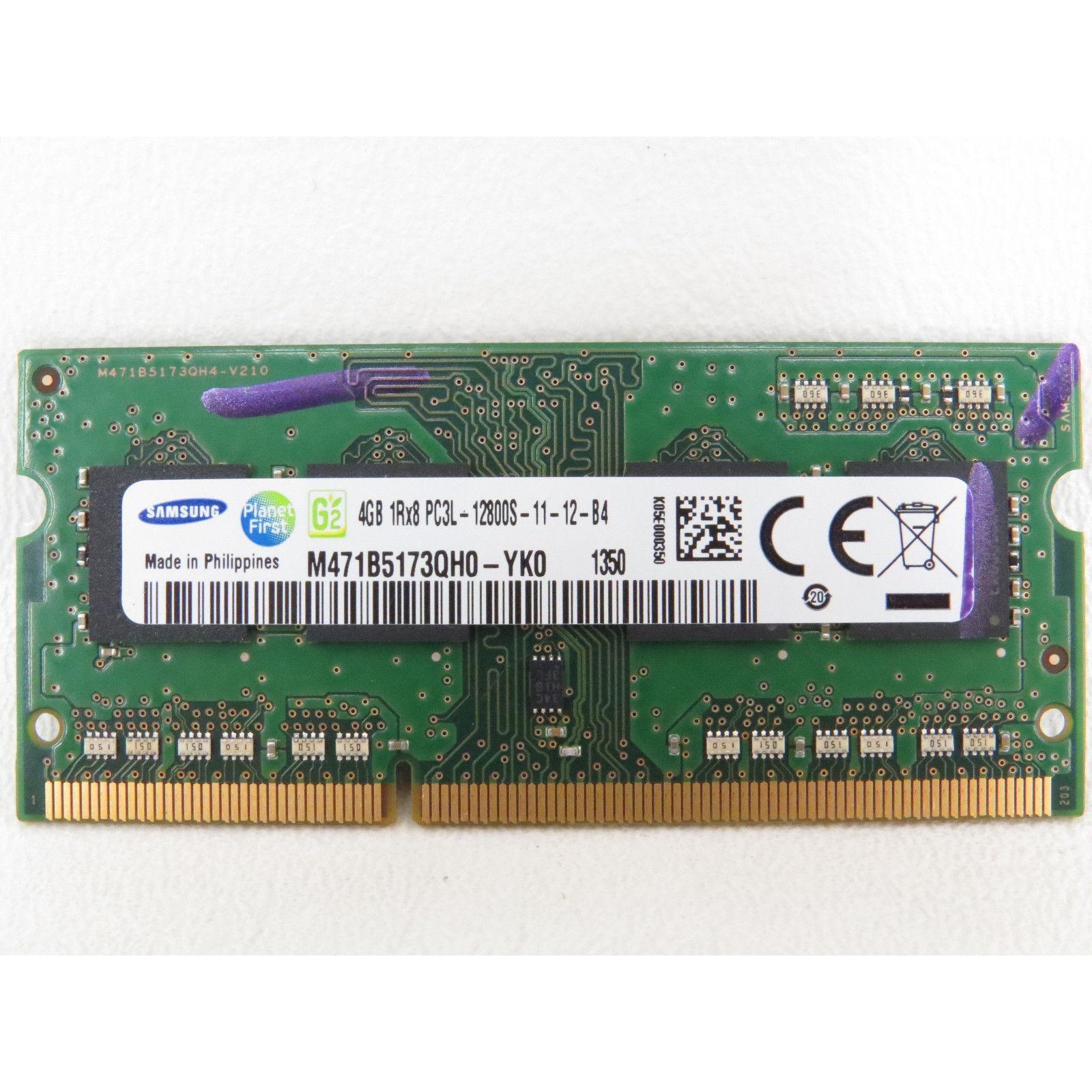 Hình ảnh Ram Laptop Samsung DDR3/PC3L 4GB Bus 1600-Hàng nhập khẩu