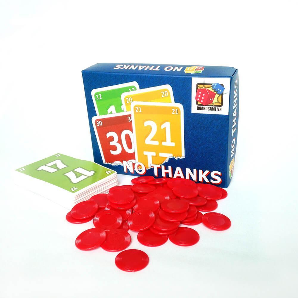Hình ảnh Đồ chơi Board Game No Thanks! - Không Cảm Ơn