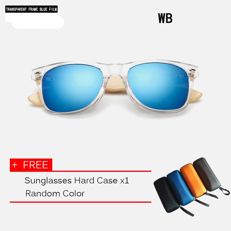 f3171d80ae 10 color Wood Sunglasses Men Women square bamboo sunglasses Designer Mirror  Sun Glasses for men women