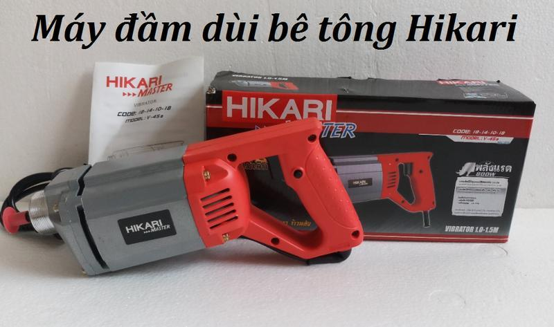 Máy đầm dùi bê tông Hikari- máy đàm dùi bê tông Thái Lan