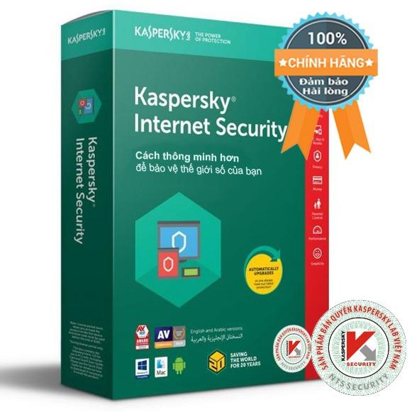 Bán Mua Phần Mềm Bảo Mật Cao Cấp Cho May Tinh Mac Điện Thoại Kaspersky Internet Security Kis 5Pc Dung Cho 5 Pc Mac Điện Thoại Mau Xanh La Đỏ Green And Red