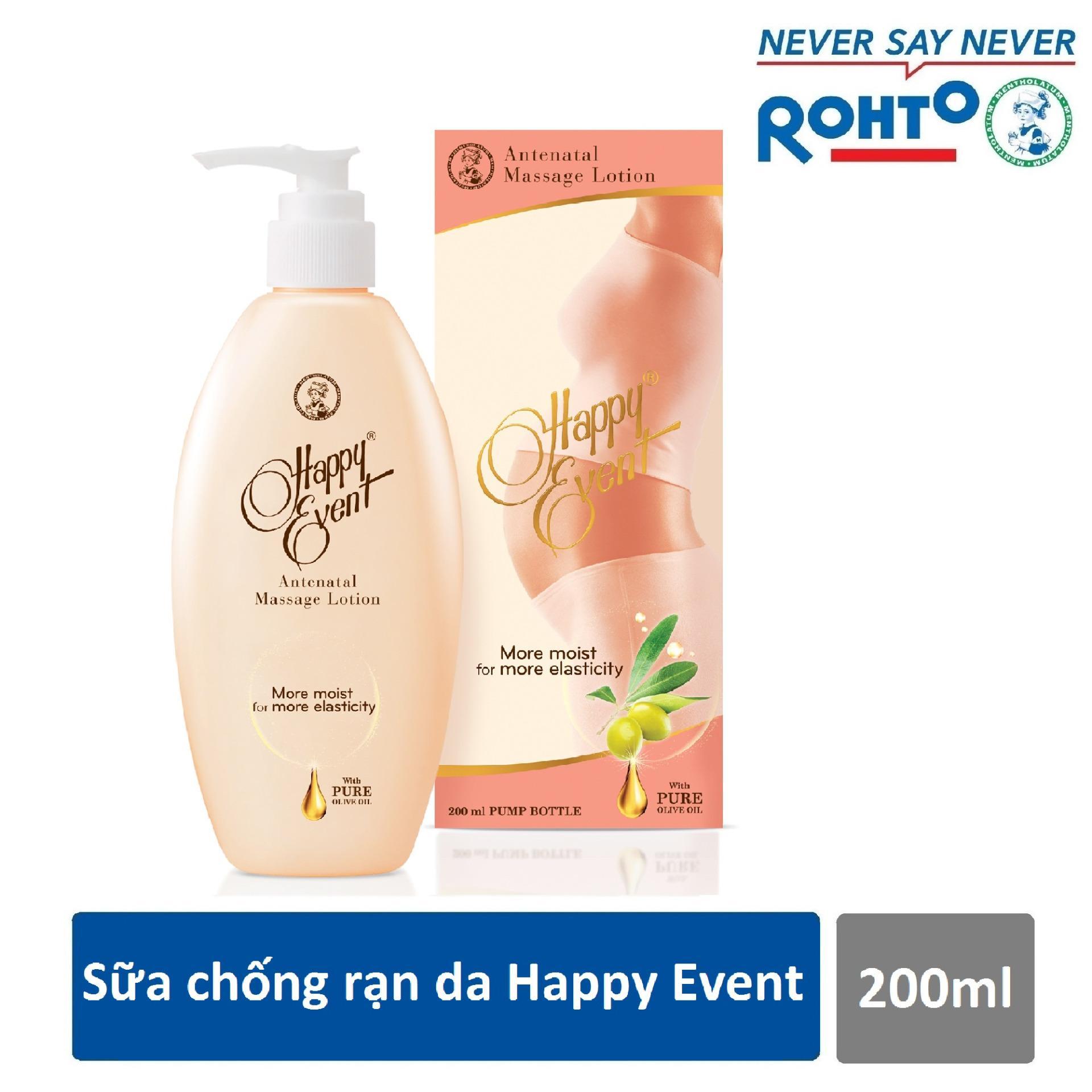 Ôn Tập Sữa Chống Rạn Da Happy Event 200Ml Đồng Gia Cơ Hội Trung Giải Thưởng 20 Triệu