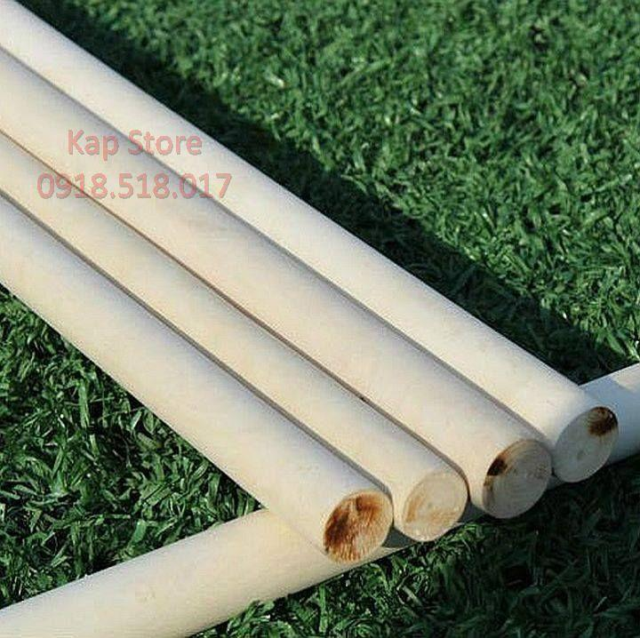 Hình ảnh Cây gậy gỗ Bạch Lạp 70cm đường kính cây 25mm