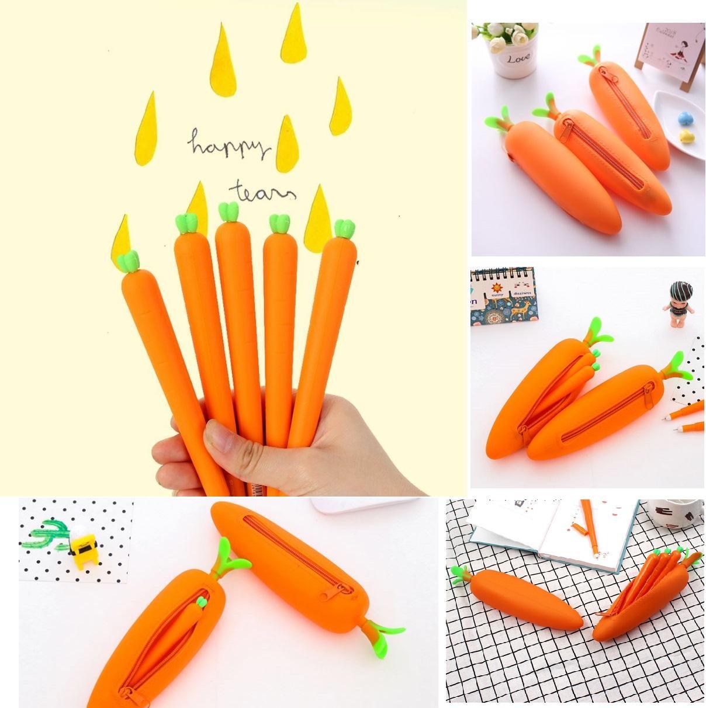 Mua Bộ gồm 01 bóp viết và 05 viết carrot chuối độc đáo PHỤ KIỆN 68